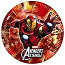 Avengers Party Plates, Set of 8