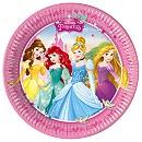 Disney Princess Party Plates, Set of 8