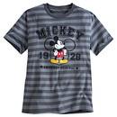 Mickey Mouse Stripe Men's T-Shirt