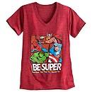 Marvel Superheroes Ladies' T-Shirt