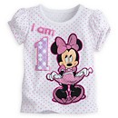 Minnie Mouse Age T-Shirt For Kids