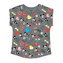 Mickey And Minnie Mouse Emoji T-Shirt For Kids