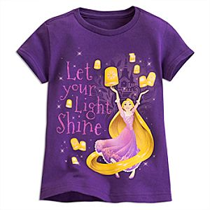 Rapunzel Shine T-Shirt For Kids