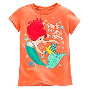 The Little Mermaid Friends T-Shirt For Kids