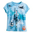 Star Wars: The Force Awakens Rey and BB-8 T-Shirt For Kids
