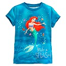 The Little Mermaid Splash T-Shirt For Kids