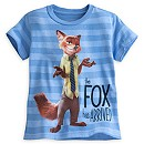 Zootropolis Fox T-Shirt For Kids