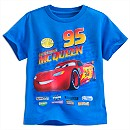 Disney Pixar Cars Lightning McQueen T-Shirt For Kids