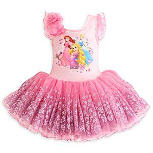 Disney Princess Deluxe Ballet Tutu Leotard For Kids