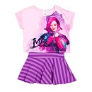 Descendants Top And Skirt Set