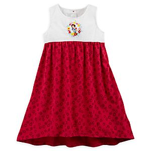 Snow White Knitted Dress For Kids