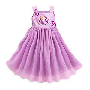 Rapunzel Party Dress For Kids