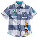 Mickey Mouse Woven Shirt For Kids