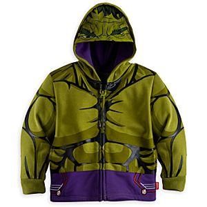 Avengers Hulk Hooded Sweatshirt For Kids-5-6 Years - Hulk Gifts