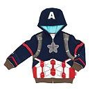 The Avengers Captain America Hooded Sweatshirt For Kids
