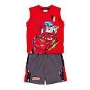 Disney Pixar Cars Knitted Top And Shorts Set