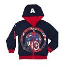 Captain America: Civil War Reversible Hooded Sweatshirt For Kids