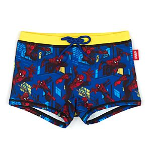 Spider-Man Swimming Trunks For Kids-9-10 Years - Swimming Gifts