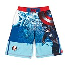 The Avengers Captain America Swim Shorts For Kids