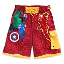 Avengers Swim Shorts For Kids