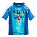 Mickey Mouse Rash Guard For Kids