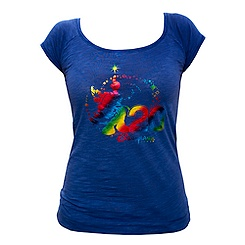 Disneyland Paris 20th Celebration Slim Fit Ladies' T-Shirt