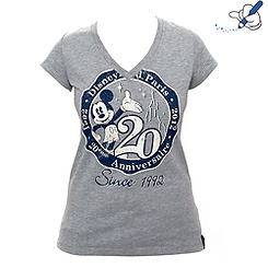 Disneyland Paris Signature Ladies Grey T-Shirt