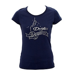 Disneyland Paris Signature Navy Slim Fit T-shirt