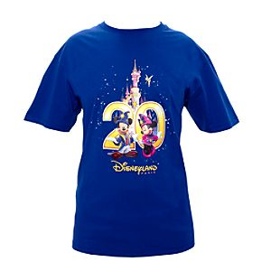 Disneyland Paris 20th Celebration T-shirt