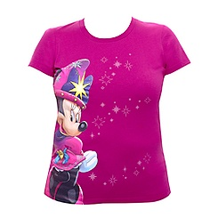 Disneyland 20th Celebration Minnie Sorcerer Slim Fit T-shirt