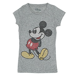 Mickey Mouse Ladies' Studded T-Shirt