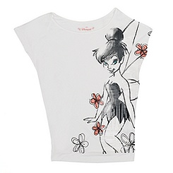 Tinker Bell Ladies' Short Sleeve T-Shirt