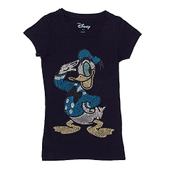 Ladies' Donald Duck Studded T-Shirt