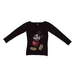 Ladies' Mickey Mouse Studded Sweatshirt