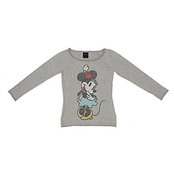 Ladies' Minnie Mouse Studded Sweatshirt