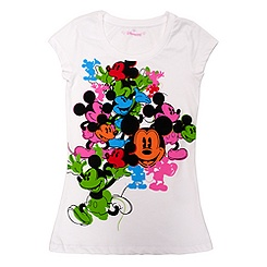 Oh Mickey Ladies' White T-shirt
