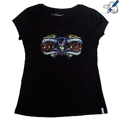 Disneyland Paris 2013 Ladies' Maleficent T-Shirt