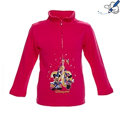 Disneyland Paris 20th Celebration Girls Zip Top
