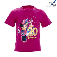Disneyland Paris 20th Celebration Girls T-shirt
