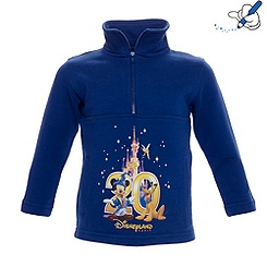 Disneyland Paris 20th Celebration Boys Zip Top