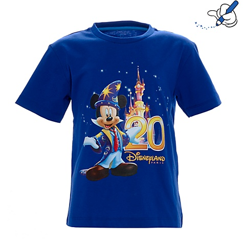 Disneyland Paris 20th Celebration Boys T-shirt