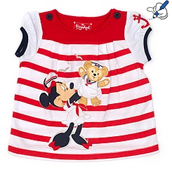 Duffy Bear Red T-Shirt For Kids