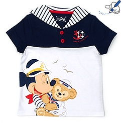 Duffy Bear Blue T-Shirt For Kids