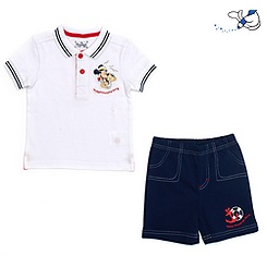 Duffy Bear Polo Shirt and Shorts For Kids
