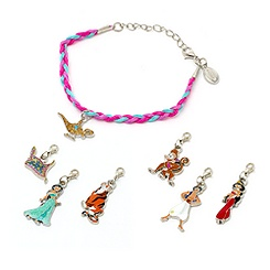 Princess Jasmine Charm Bracelet Collection