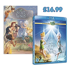 Tinker Bell and The Secret of the Wings Blu-ray Set