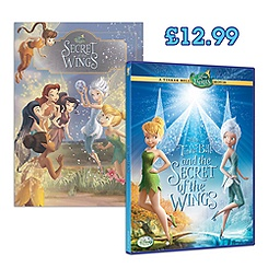 Tinker Bell and The Secret of the Wings DVD Set
