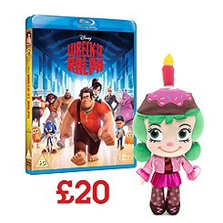 Wreck-It Ralph Blu-ray and Soft Toy Offer
