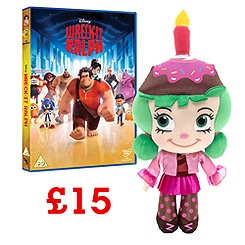 Wreck-It Ralph DVD and Soft Toy Offer